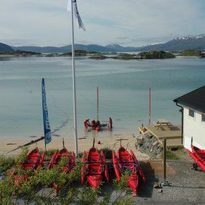 Centre de location de kayak Hobie : 69Nord Sommaroy Outdoor Center