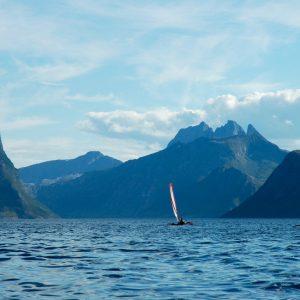 Kayak trimaran Hobie à louer chez 69 NORD, Norvège
